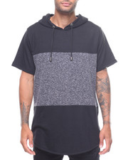 Athleisure for Men - MARLED ELONGATED SS HOODY-2225140