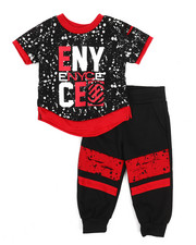 Enyce - Graphic Tee w/Jogger Set (Infant)-2223698