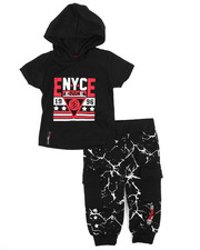 Enyce - Graphic Hoodie w/Jogger Long Set (Infant)-2223741