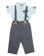 Duck Duck Goose - Yarn Dye Novelty Top/Pant Set (Infant)-2223477