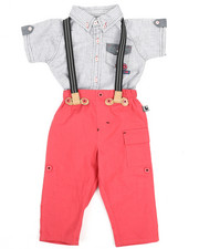 Duck Duck Goose - Yarn Dye Novelty Top/Pant Set (Infant)-2223395