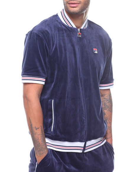 Fila - S/S Carezzi Velour Jacket
