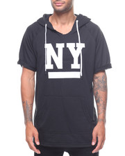 Athleisure for Men - NY BKYLN RAGLAN SS HOODY-2225201