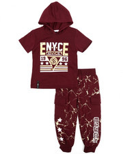 Enyce - Graphic Hoodie w/Jogger Set (2T-4T)-2223771