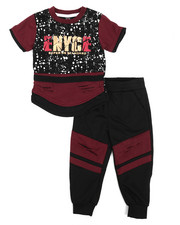 Enyce - Graphic Tee w/Jogger Set (2T-4T)-2223812