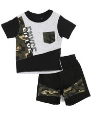 Enyce - Graphic Tee/Denim Short Set (Infant)-2222972