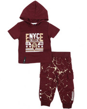 Enyce - Graphic Hoodie w/Jogger Long Set (Infant)-2223762