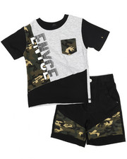 Enyce - Graphic Tee/ Denim Short Set (2T-4T)-2222980