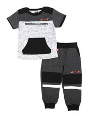 Enyce - Two Piece Short Sleeves Jogger Set (2T-4T)-2223632