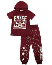 Enyce - Graphic Hoodie w/Jogger Set (4-7)-2223800