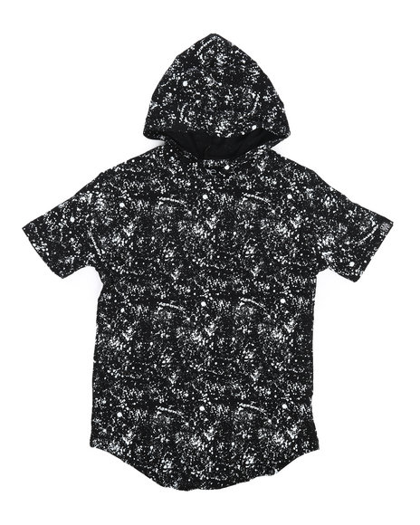 Arcade Styles - Printed Splash Hooded Tee (8-20)