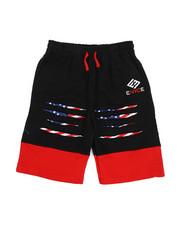 Enyce - Slashed Print Drawstring Shorts (8-20)-2223969