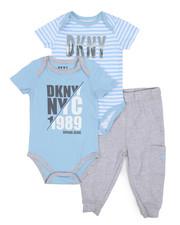 DKNY Jeans - NYC 1989 3 Piece Set (Infant)-2223654