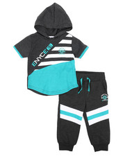 Enyce - Graphic Hoodie w/Jogger Long Set (Infant)-2223791