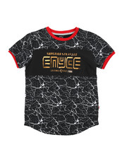 Enyce - Embossed Foil Graphic Tee (8-20)-2224475