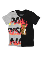 Parish - On Fire Printed Graphic Tee (4-7)-2224470