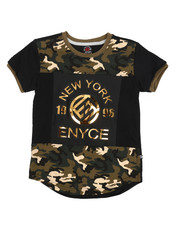 Enyce - Embossed Foil Graphic Tee (4-7)-2224578
