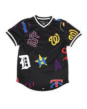 Arcade Styles - All Over Print Baseball Jersey (8-20)-2224444