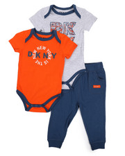 DKNY Jeans - The NYC 3 Piece Set (Infant)-2223551