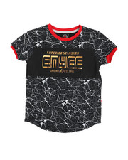 Enyce - Embossed Foil Graphic Tee (4-7)-2224494