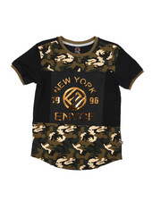 Enyce - Embossed Foil Graphic Tee (8-20)-2224513