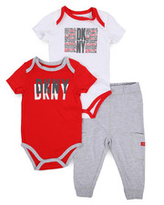 DKNY Jeans - West Side 3 Piece Set (Infant)-2223671