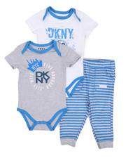 DKNY Jeans - Downtown 3 Piece Set (Infant)-2223657