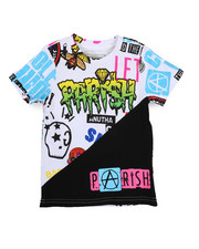 Parish - Geddit Printed Cut & sewn Tee (4-7)-2224460