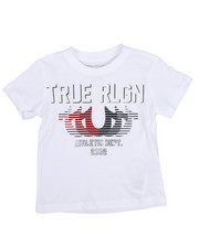 True Religion - True Religion Striped Horse Shoe Tee (2T-4T)-2225456