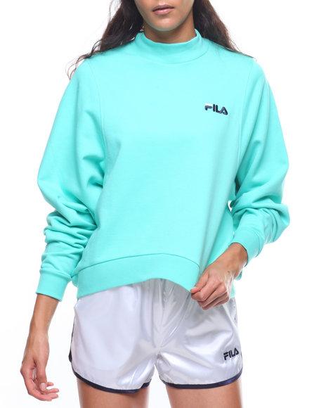 fdba396c6df Buy Summer Solid Fleece Sweatshirt Women s Tops from Fila. Find Fila ...