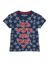 True Religion - All Star Print Tee (4-6X)-2225638