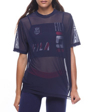 Fila - Zen Double Mesh Crop Layer Top-2224909