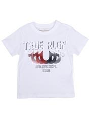True Religion - True Religion Striped Horse Shoe Tee (4-7)-2225442