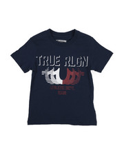 True Religion - True Religion Striped Horse Shoe Tee (4-7)-2225431