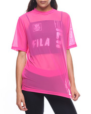 Fila - Zen Double Mesh Crop Layer Top-2224914