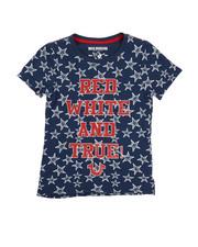 Sizes 7-20 - Big Kids - Star Print Tee (7-16)-2225684