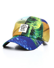Hustle Gang - Paradise Dad Strapback Hat-2225417