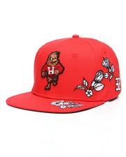 Hustle Gang - Hibiscus Snapback Hat-2225416