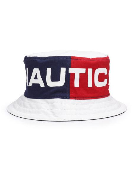 Buy Nautica Color Block Bucket hat Men s Hats from Nautica. Find ... 5a6af4d6062d