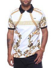 Short-Sleeve - Ornament Polo Shirt-2226615