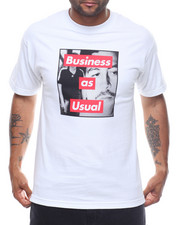 Shirts - BUSINESS AS USUAL TEE-2226583