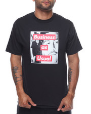Shirts - BUSINESS AS USUAL TEE-2226589