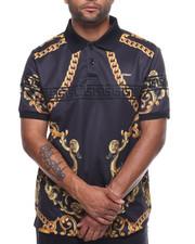 Short-Sleeve - Ornament Polo Shirt-2226603