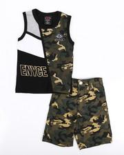 Enyce - 2 Piece Denim Short/Tank Set (2T-4T)-2223863