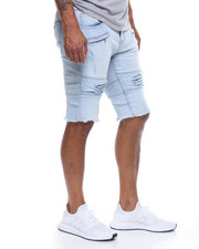 Kilogram - Cut off Moto Jean Short-2226733