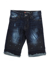 Southpole - Ripped Denim Shorts (8-20)-2224877
