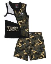 Enyce - 2 Piece Denim Short/Tank Set (Infant)-2223871