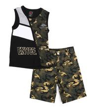 Enyce - 2 Piece Denim Short/Tank Set (4-7)-2223867