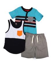 Sets - Knit Tops & Twill Bottom 3 Piece Set (4-7)-2223879