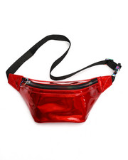 Women - Metallic Fanny Pack-2223333